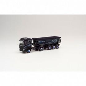 Herpa 311991 Scania CR 20 dump semitrailer 'Wagner Mitteleschenbach' (Bayern Mitteleschenbach)