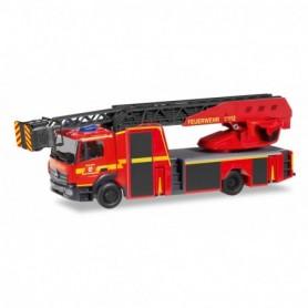 Herpa 095372 Mercedes-Benz Atego turnable ladder 'Feuerwehr Herzogenrath'