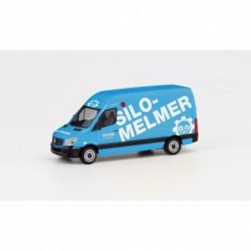 Herpa 095419 Mercedes-Benz Sprinter 13 box truck 'Silo Melmer'