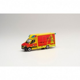 Herpa 095440 Mercedes-Benz Sprinter 18 Fahrtec ambulance 'DRK Juist