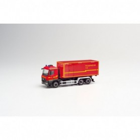 Herpa 095464 Mercedes-Benz Arocs M interchangeable truck 'Feuerwehr Stadt Herzogenrath'