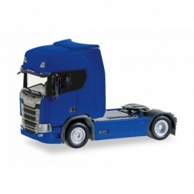 Herpa 307185-002 Scania CR20 HD rigid tractor, ultramarine blue