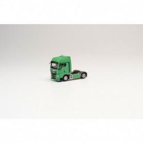Herpa 312141 MAN TGX GX rigid tractor, pastel green