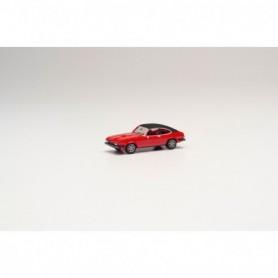 Herpa 420570 Ford Capri II mit Vinyldach, red