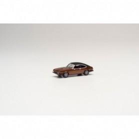 Herpa 430807 Ford Capri II mit Vinyldach, brown metallic