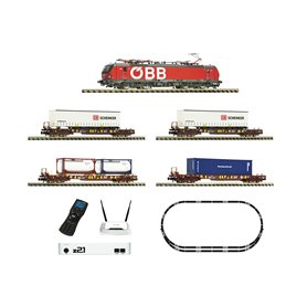Fleischmann 931900 Digital Starter Set z21: Electric locomotive class 193 and goods train, ÖBB