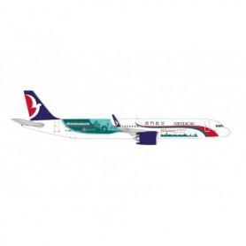"""Herpa Wings 534444 Flygplan Air Macau Airbus A321neo – B-MBQ """"Macao welcomes you"""""""