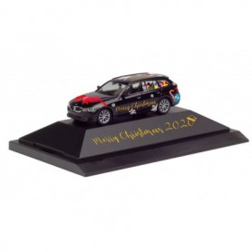 Herpa 102162 BMW 3 Series Touring 'Herpa Christmas car 2020'