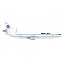 """Herpa Wings 534475 Flygplan Pan American World Airways McDonnell Douglas DC-10-30 – N84NA """"Glory of the Skies"""""""