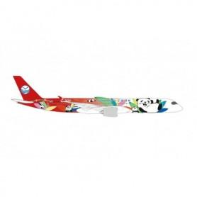 """Herpa Wings 534499 Flygplan Sichuan Airlines Airbus A350-900 """"Panda Route"""" – B-306N"""