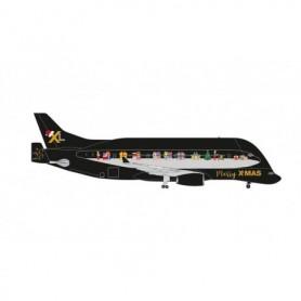 Herpa Wings 534505 Flygplan Christmas 2020 Airbus BelugaXL