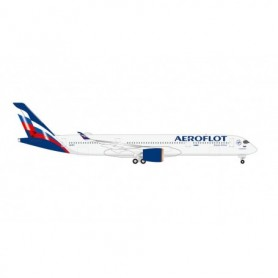 "Herpa Wings 534574 Flygplan Aeroflot Airbus A350-900 – VQ-BFY ""P. Tchaikovsky"""