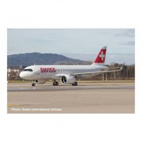 """Herpa Wings 570947 Flygplan Swiss International Air Lines Airbus A320 neo – HB-JDA """"Engelberg"""""""