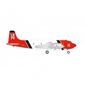 Herpa Wings 570954 Flygplan Aero Union Douglas C-54 Skymaster Air Tanker – N62297 | 14
