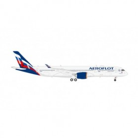 "Herpa Wings 570978 Flygplan Aeroflot Airbus A350-900 – VQ-BFY ""P. Tchaikovsky"""