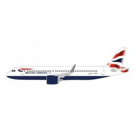 Herpa Wings 612746 Flygplan British Airways Airbus A320 neo – G-TTNA