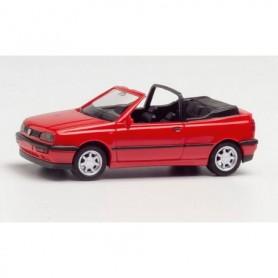 Herpa 021548-002 VW Golf III Cabrio, red