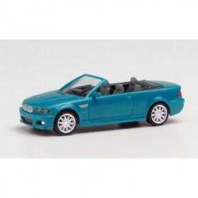 Herpa 022996-002 BMW M3 Cabrio, laguna seca blue