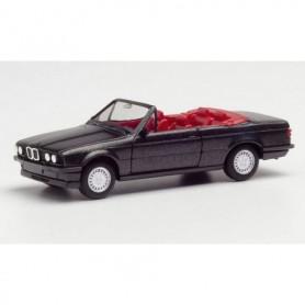 Herpa 030595-002 BMW 325i Cabrio, blacksaphir metallic