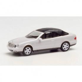 Herpa 032582-002 MB CLK Cabrio, silver metallic