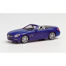 Herpa 034838-002 MB SL-Klasse Cabrio, cavansit blue metallic