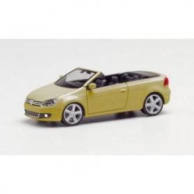 Herpa 034869-002 VW Golf Cabrio, sweet data gold metallic