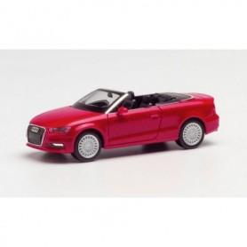 Herpa 038300-002 Audi A3® convertible, tango red metallic