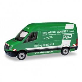 """Herpa 095051 VW Crafter Kasten HD """"Wilko Wagner Hamburg"""""""