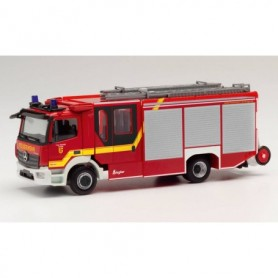 Herpa 095471 Mercedes-Benz Atego 13 Ziegler Z-Cab Fire brigade Dinklage