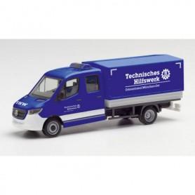 """Herpa 095525 Mercedes-Benz Sprinter 18 double cab """"THW München Ost"""""""