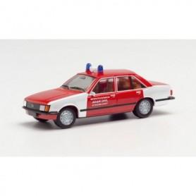 "Herpa 095556 Opel Rekord E ""fire department Adam Opel AG'"