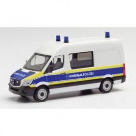 """Herpa 095563 Mercedes-Benz Sprinter 13 semi-bus """"Brandenburg criminal investigation department"""""""