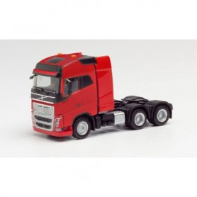 Herpa 312387 Volvo FH Gl. XL 6×4 tractor with heavy duty tower, red