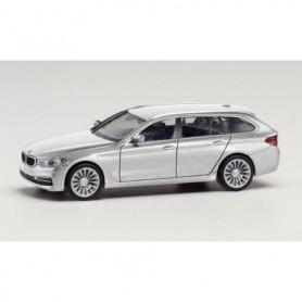Herpa 430708-002 BMW 5er Touring, glacier silver metallic