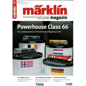 Märklin 345105 Märklin Magazin 3/2020 Engelska
