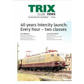 Trix CLUB32020 Trix Club 03/2020, magasin från Trix, 23 sidor i färg, Engelska