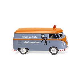 "Wiking 79727 VW T1 box van "" VW Kundendienst"""