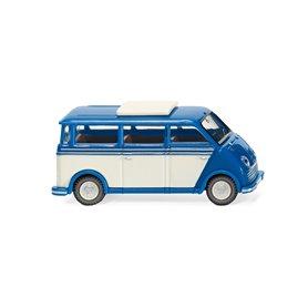Wiking 33402 DKW speedvan bus - blue/ pearl white
