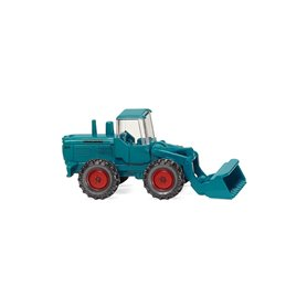 Wiking 97401 Wheel loader (Hanomag) - water blue