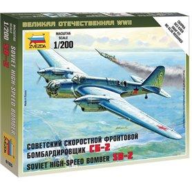 Zvezda 6185 Flygplan Soviet High-Speed Bomber SB
