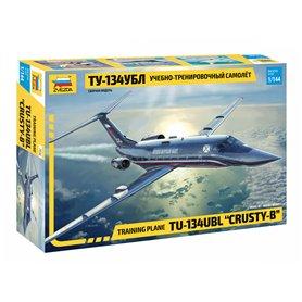 """Zvezda 7036 Flygplan Training plane TU-134UBL """"CRUSTY-B"""""""