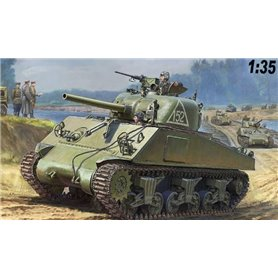 Zvezda 3702 Tanks M4A2 Sherman 75MM Medium Tank