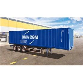 Italeri 3951 Container Trailer 40'