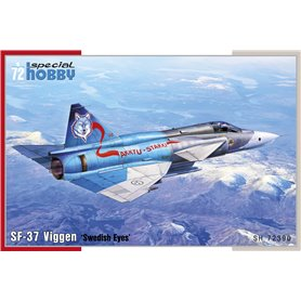 "Special Hobby 72390 Flygplan Saab SF-37 Viggen ""Swedish Eyes"""