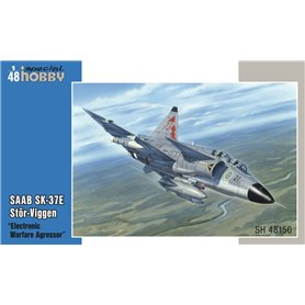 """Special Hobby 48150 Flygplan SAAB SK-37E Stör-Viggen """"Electronic Warfare Agressor"""""""