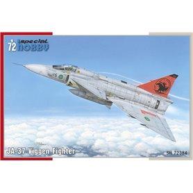 Special Hobby 72384 Flygplan SAAB JA-37 Viggen Fighter, med svenska dekaler