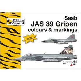 Mark I Guide 44012 SAAB JAS 39 Gripen Colours & Markings
