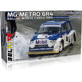 Belkits BEL-015 MG Metro 6R4 Malcolm Wilson / Nigel Harris Rallye Monte-Carlo 1986