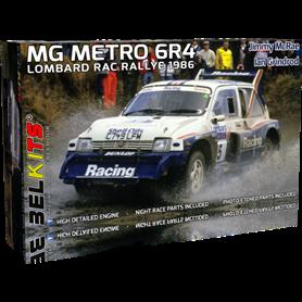 Belkits BEL-016 MG METRO 6R4 1986 Jimmy McRae - Ian Grindrod Lombard RAC Rally 1986