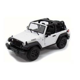 Maisto 31610 Jeep Wrangler Rubicon 2014, white
